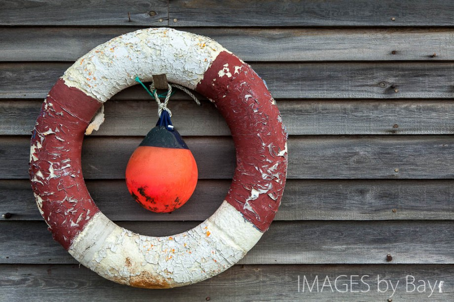 Photo of lifebuoy at Victorian Seaside