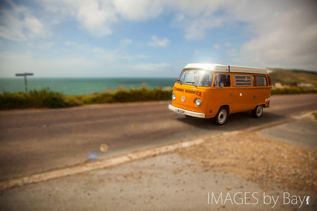 Orange VW Campervan