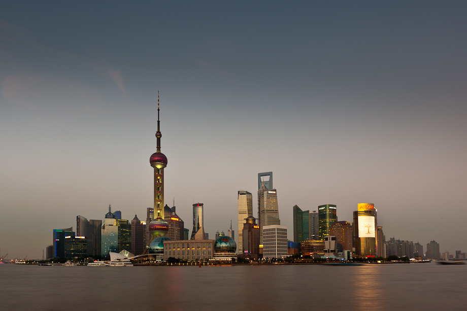 Shanghai Skyline with Canon EF 16-35mm