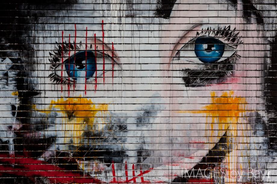 Street Art of Face