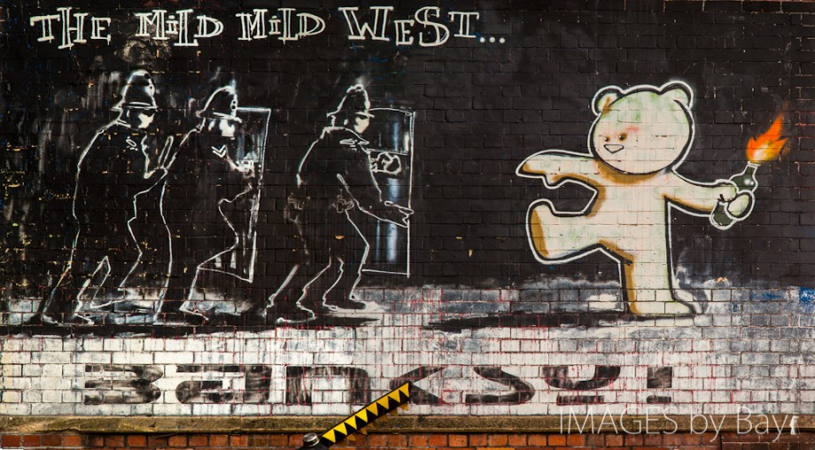 The Mild Mild West - Banksy