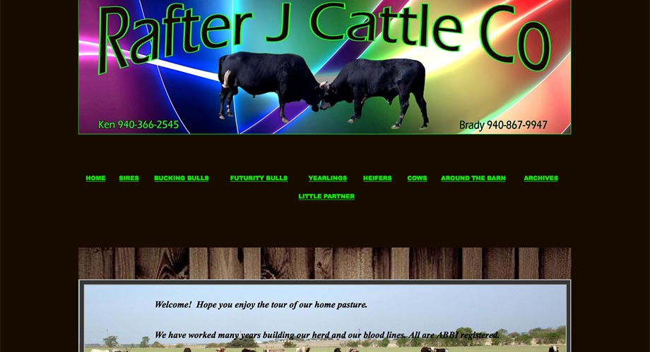 Cattle Website